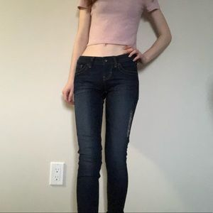 """Guess 23"""" low rise skinny jeans!!"""